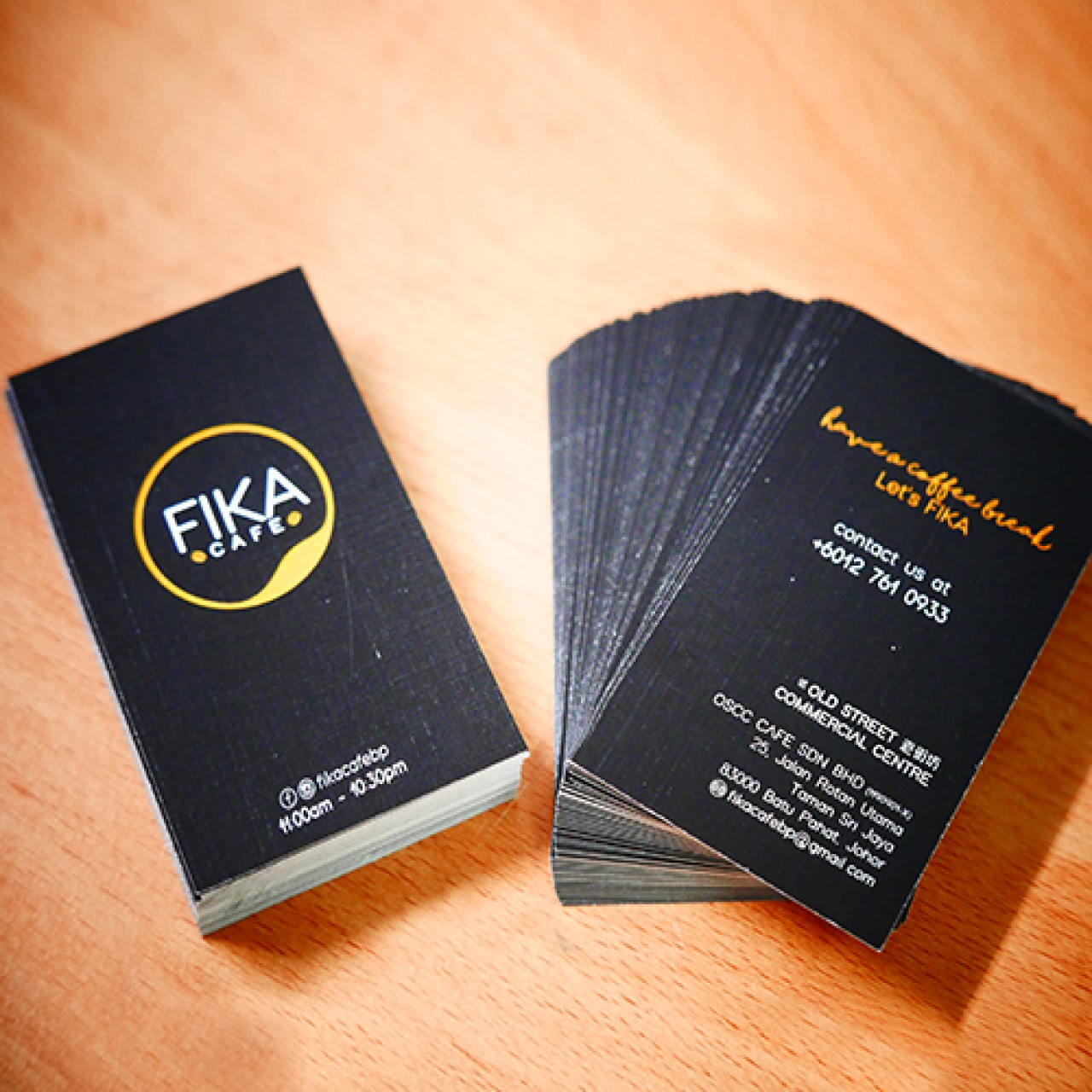 Business Card (Digital Printing)