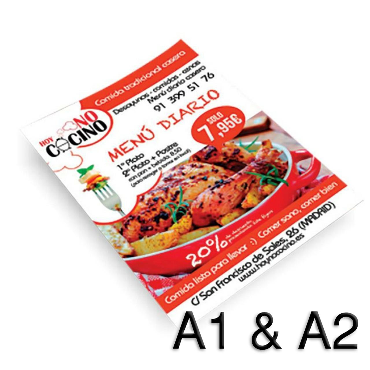 Flyer (A1 & A2)